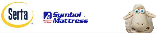 mattress bedding outlet serta symbol the mattress man online